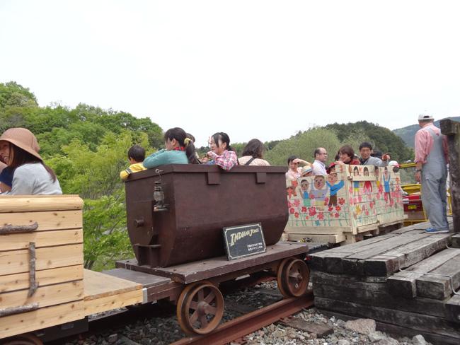 トロッコフェスタ and かかし祭 in YAMADA の様子